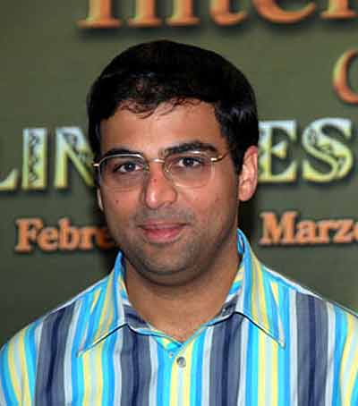 Interview with :   Viswanathan Anand, Indian chess Grandmaster
