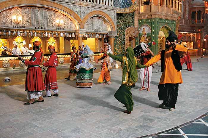 Esibizioni folck al Culture Gully