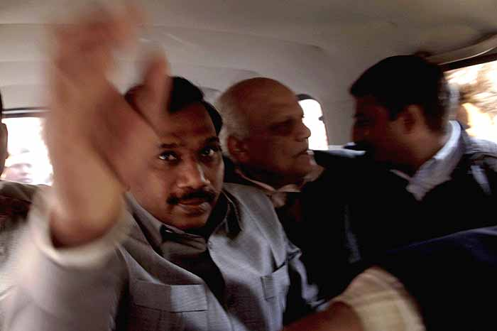 news.outlookindia.com | 2G Scam: Raja, Aides Get 5 Day CBI Custody